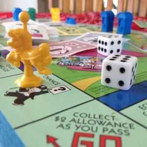 Playing Real Life Monopoly